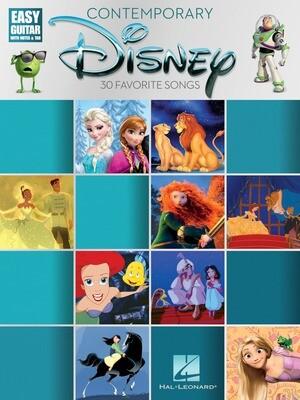 Contemporary Disney for Guitar - HL 00196954