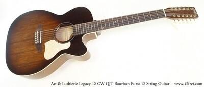 Art & Luthrie - Legacy 12 Burbon Burst - QIT