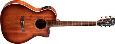 Cort Acoustic Guitar Grand Regal Series Mahogany Open Pore GA-MEDX-M-OP