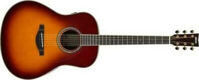 Yamaha TransAcoustic Original Jumbo Guitar - Brown Sunburst LL-TA BS