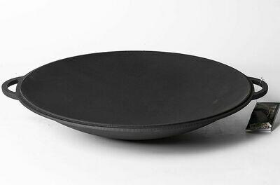 Крышка - сковорода Чугунная САДЖ 40 см Ситон
