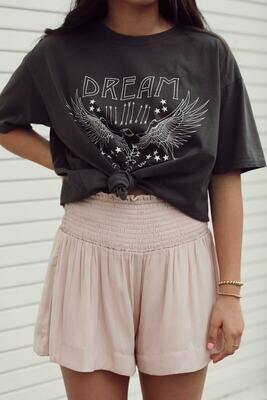 Blush Smocked Shorts