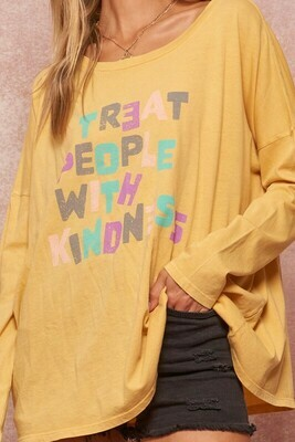 Treat People With Kindness Top