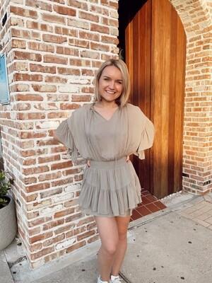 Audrey Ruffle Dress