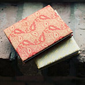 Mini Silk Sari Journal