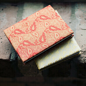Mini Silk Sari Journal