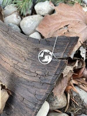 World Necklace - Silver