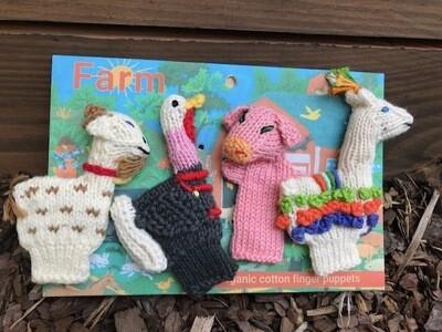 Finger Puppets - Farm Friends