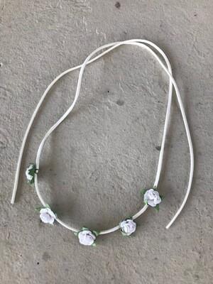 Flower Suede Headband
