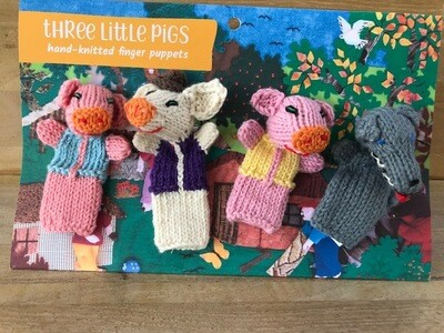 Finger Puppets - Three Little Pigs