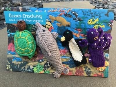 Finger Puppets - Ocean Creatures