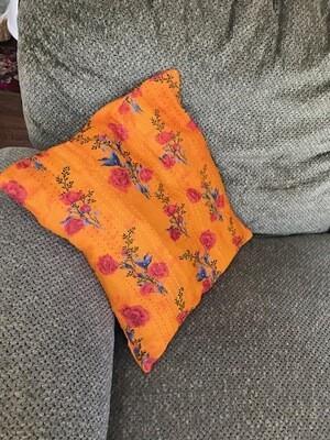 Sari Pillow Covers