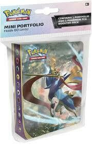 Pokemon TCG: Sword & Shield Mini Portfolio with Booster Pack