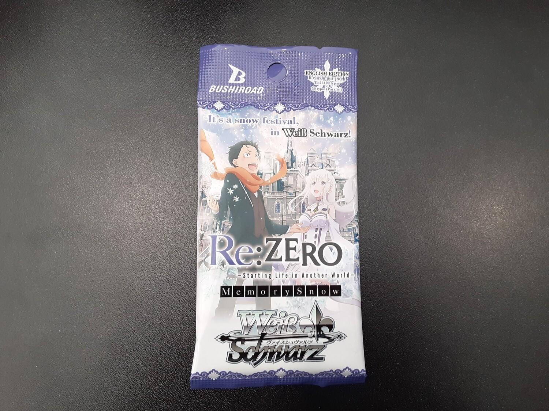 Weiss Schwarz TCG: Re:ZERO Booster Pack