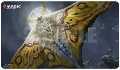 "Magic: The Gathering TCG: Ikoria: Lair of Behemoths ""Luminous Broodmoth"" Gaming Playmat"