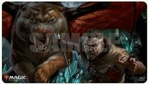 Magic: The Gathering TCG: Go for Blood Gaming Playmat