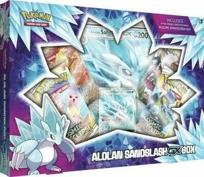 Pokemon TCG: Alolan Sandshrew GX Box