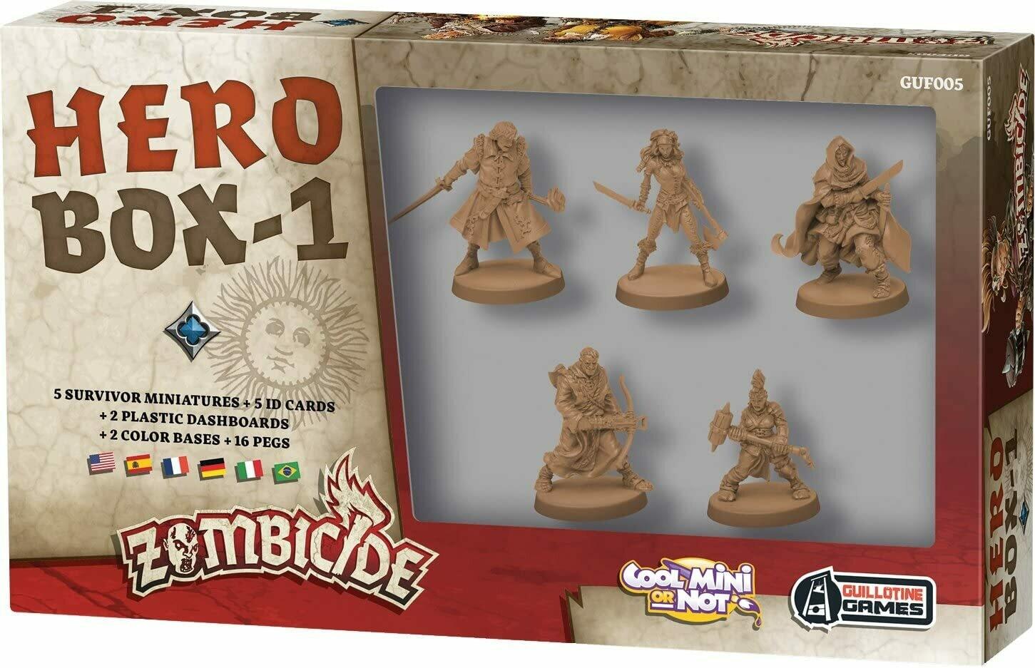 Zombicide: Hero Box-1