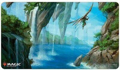 """Magic: The Gathering TCG: Zendikar Rising """"Riverglide Pathway"""" Gaming Playmat"""