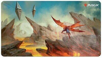 """Magic: The Gathering TCG: Zendikar Rising """"Lavaglide Pathway"""" Gaming Playmat"""
