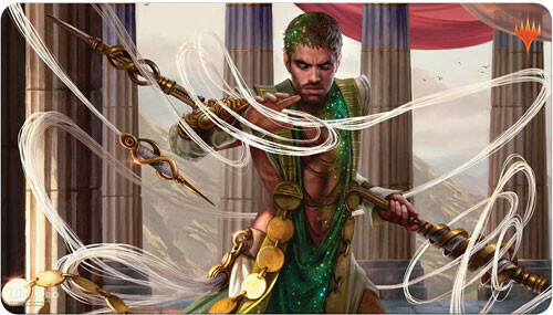 """Magic: The Gathering: Theros Beyond Death """"Calix, Destiny's Hand"""" Gaming Playmat"""