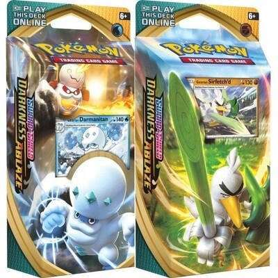 Pokemon TCG: Darkness Ablaze Theme Deck Featuring...