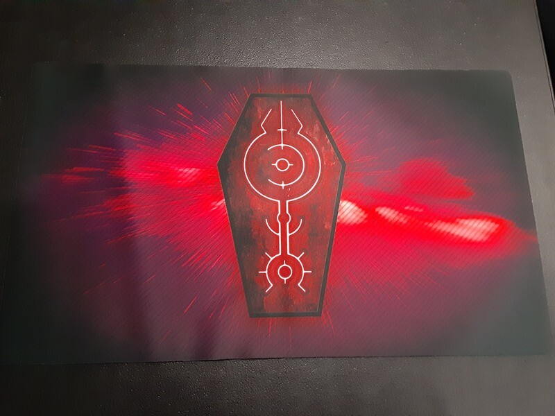 Standard Monolith Games Store Gaming Playmat
