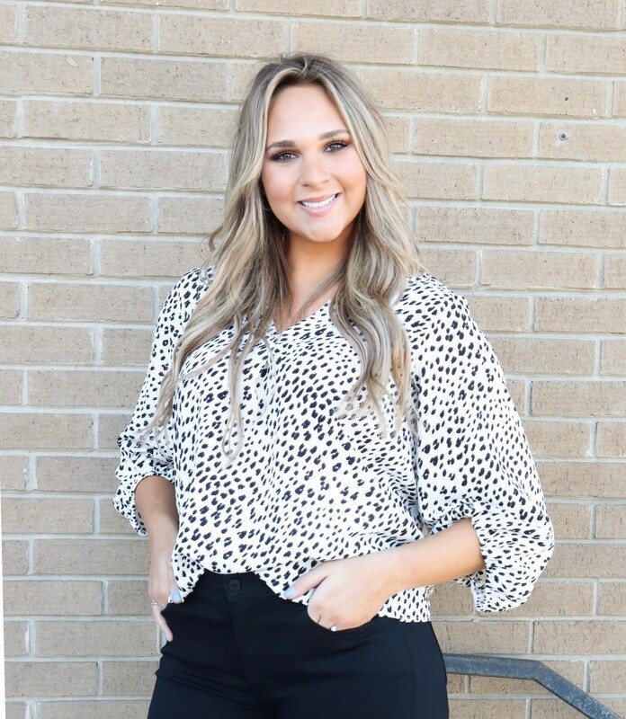 Leopard Dress Top