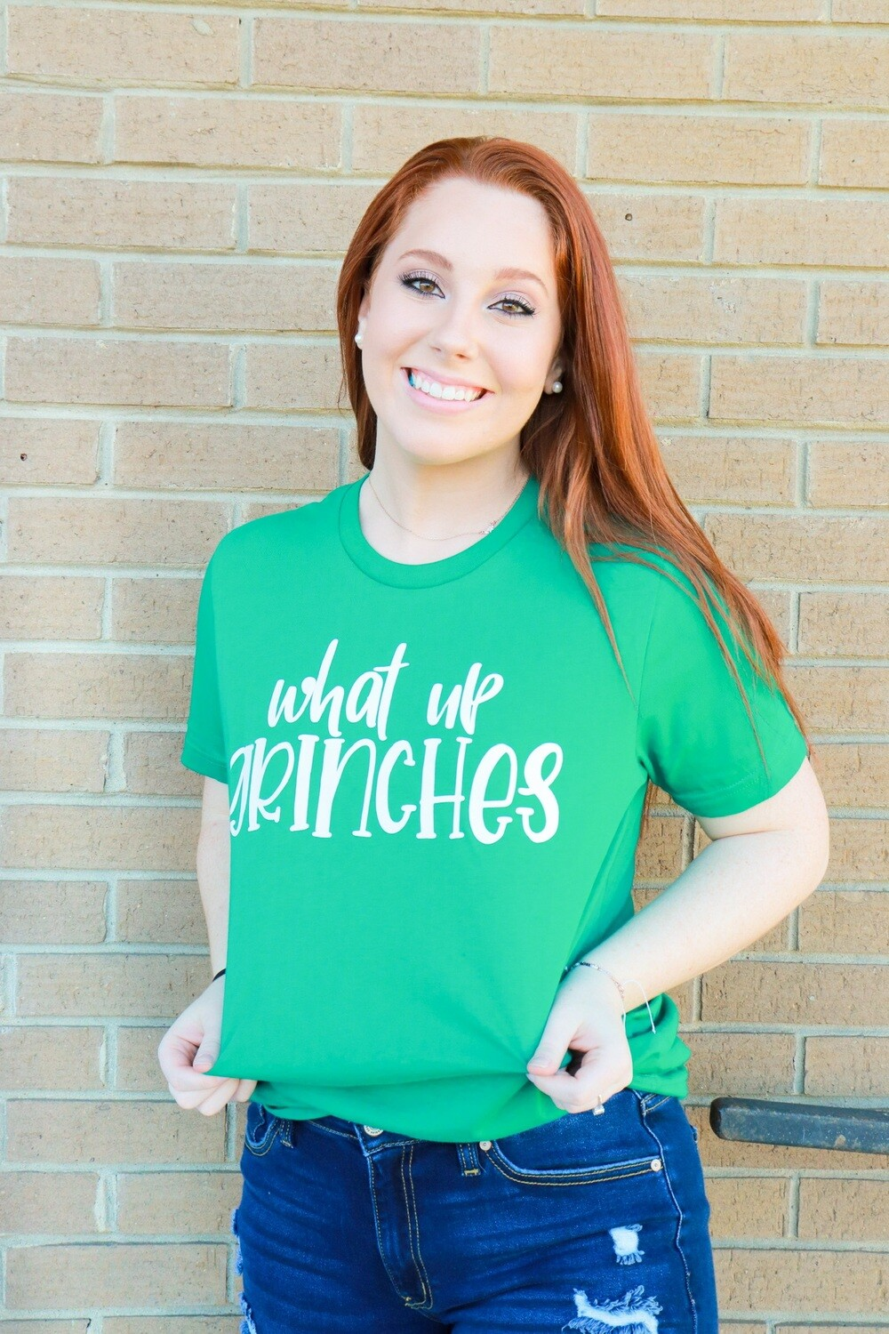 What Up Grinches Tee
