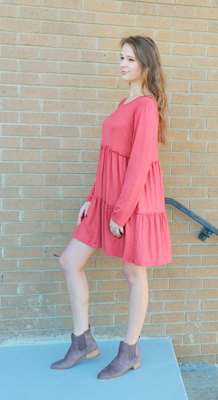 Marsala Dress