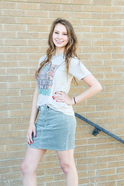 Corduroy Skirts
