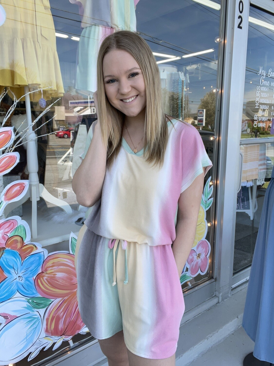 out and about romper