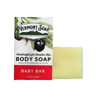 Organic Baby Bar Soap - Aloe
