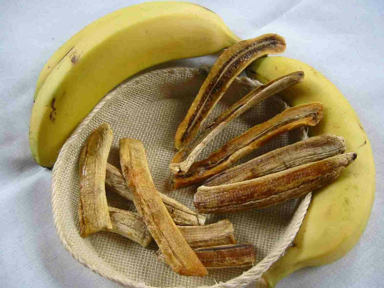 Organic Banana Strips