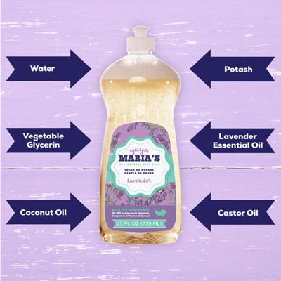 Natural Liquid Dish Soap