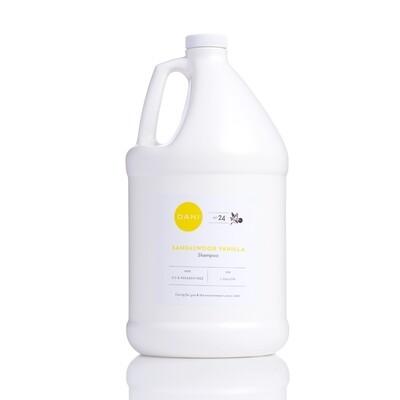 Natural Shampoo, Sandalwood Vanilla