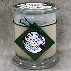 Bedrock Large Fir Needles Candle