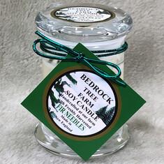 Bedrock Small Fir Needles Candle