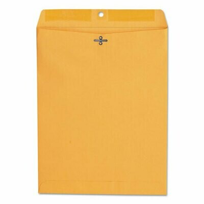 Universal Kraft Clasp Envelope, 10 x 13, 100/Box