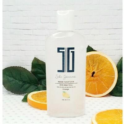 Hand Sanitizer Orange