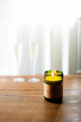Rewind Candle Champagne