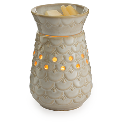 Candle Warmer, Midsize - Scalloped Vase