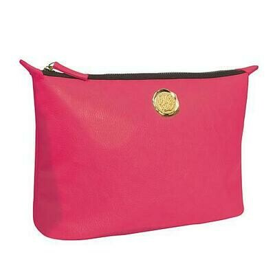 Anna Griffin Pink Cosmetic Bag