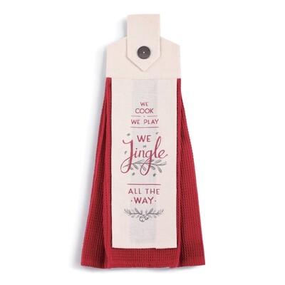 Hanging Tea Towel - We Jingle All The Way