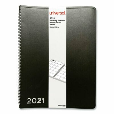 2021 Monthly Planner - 14 Months