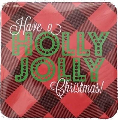 Coasters - Holly Jolly