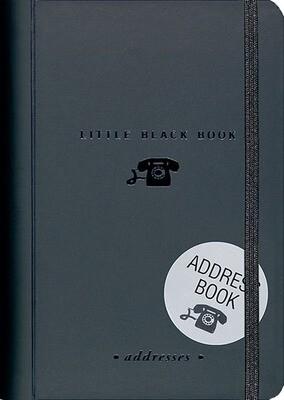 Address Book - Little Black Book