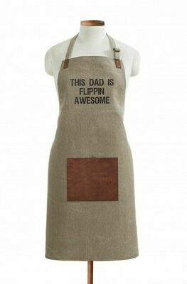 Apron - This Dad is Flippin Awesome
