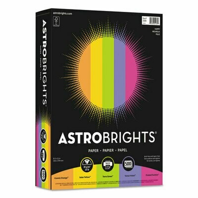 Astrobright Colored Paper - Assorted Pack