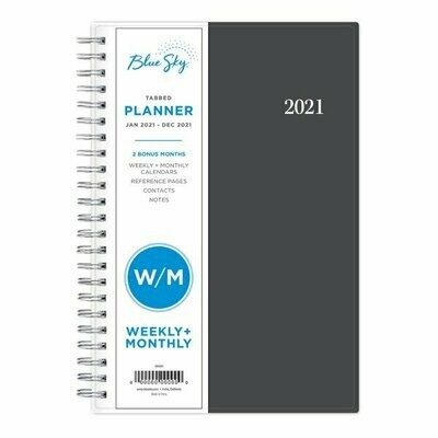 2021 Planner With Tabs (Weekly/monthly)